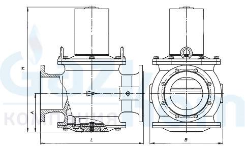 Клапан электромагнитный ВН6Н-3К