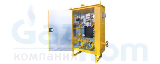Пункт учета газа ПУГ-Ш-25-ДТК